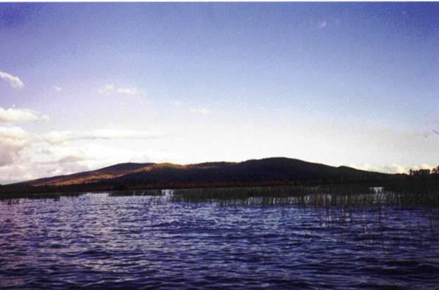 Green Mtn from Oss Lake