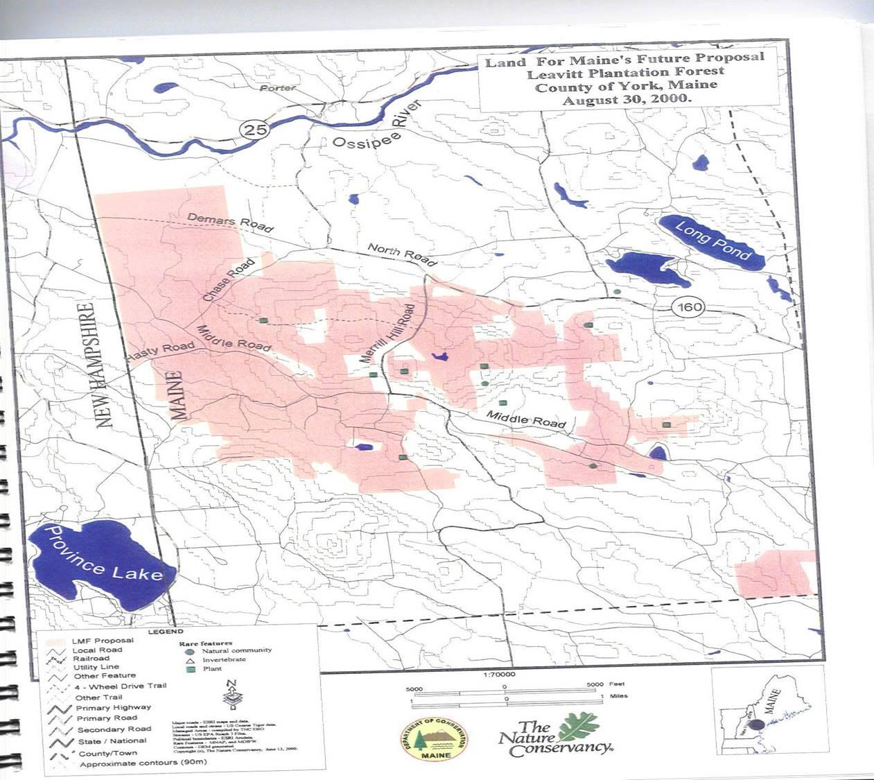 Leavitt Plantation Land 2000