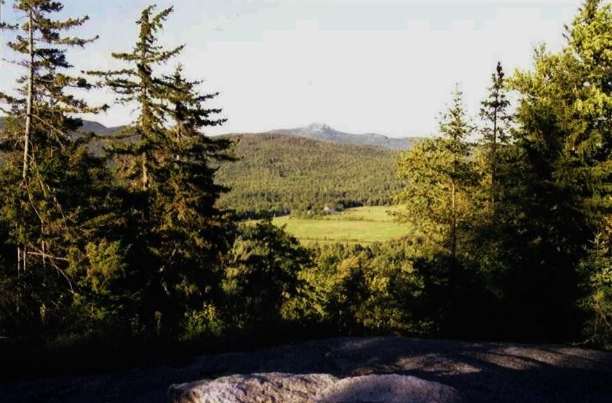 Mount Katherine looking towards Steele Farm Wonalancet